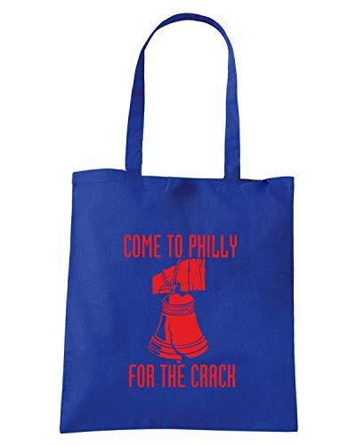 PHILLY Shopper Blu Borsa COME FUN0174 TO Royal gwP0WqBxdY