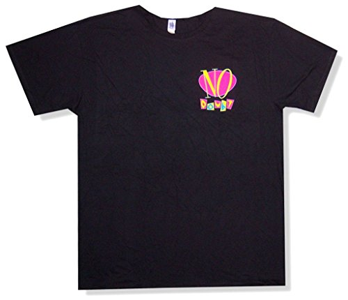 No Doubt Tragic Kingdom Logo Soft 30/1 Adult Black T Shirt (L)