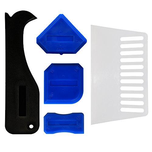 GRIVER 5-Piece Caulking Tool Kit,Caulk Finishing Tool Kit (5-Piece Caulking Tool (Pro Applicator)