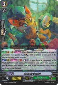 Artistic Ocelot - G-EB02/008EN - RRR - G Extra Booster 2: The AWAKENING ZOO