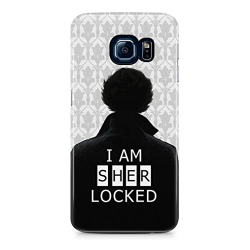 Sherlock Holmes I Am Sherlocked Hard Plastic Phone Case Cover Shell For Samsung Galaxy S6 Edge Plus