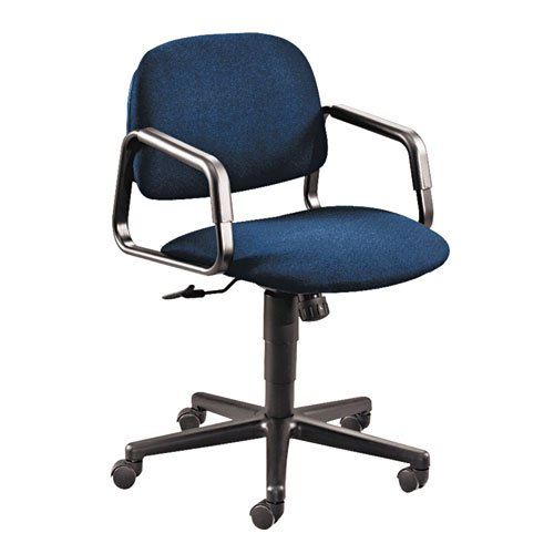 HON 4002AB90T Solutions Seating Mid-Back Swivel/Tilt Chair, Olefin, Blue by HON