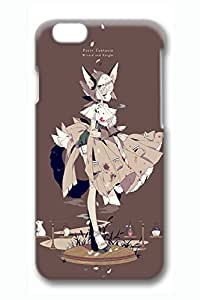 Anime Girl 20 Slim Soft Cover for iPhone 6 Case (4.7 inch) TPU Black