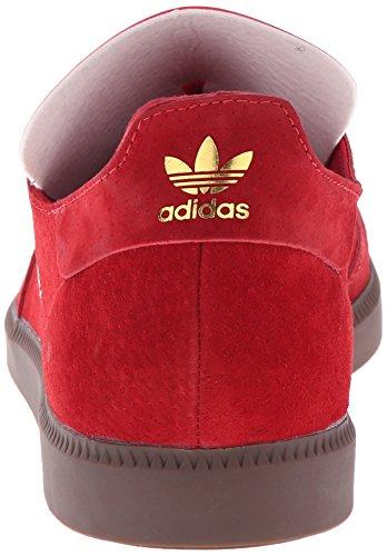 Adidas Performance Mens Samba Mc Lthr Sko Scarlet / Purpur / Gull Metalliske