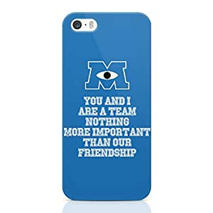 Loud Universe Quote Movie Monsters Inc Iphone 5 / 5s Case Monsters University Iphone 5 / 5s Cover with 3d Wrap around Edges