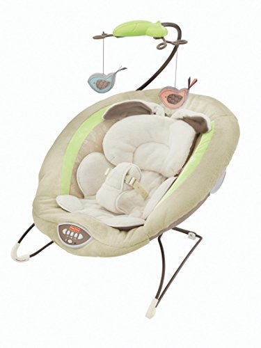 Fisher-Price Deluxe Bouncer, My Little Snugabunny (Bouncer Seat Price Fisher)