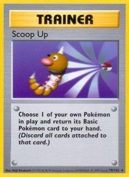 Pokemon - Scoop Up (78/102) - Base Set