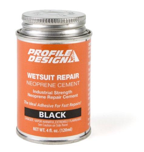 Profile Design Wet Suit Seal Cement Can (4-Ounce) - Mens Wet Cement