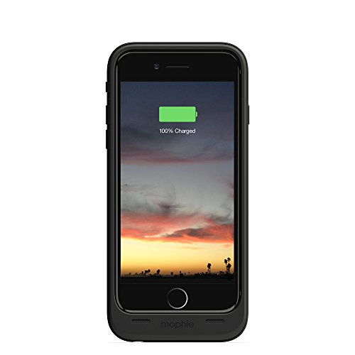 mophie juice pack air - Slim Protective Mobile Battery Pack Case for iPhone 6/6s - Black by mophie