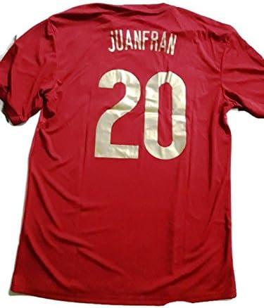 Camiseta JUANFRAN R. Mundial Selección Española Original RFEF (L): Amazon.es: Deportes y aire libre