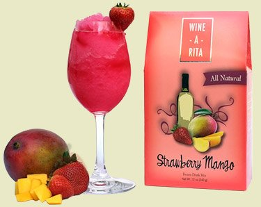 Wine-A-Rita Strawberry Mango, All Natural