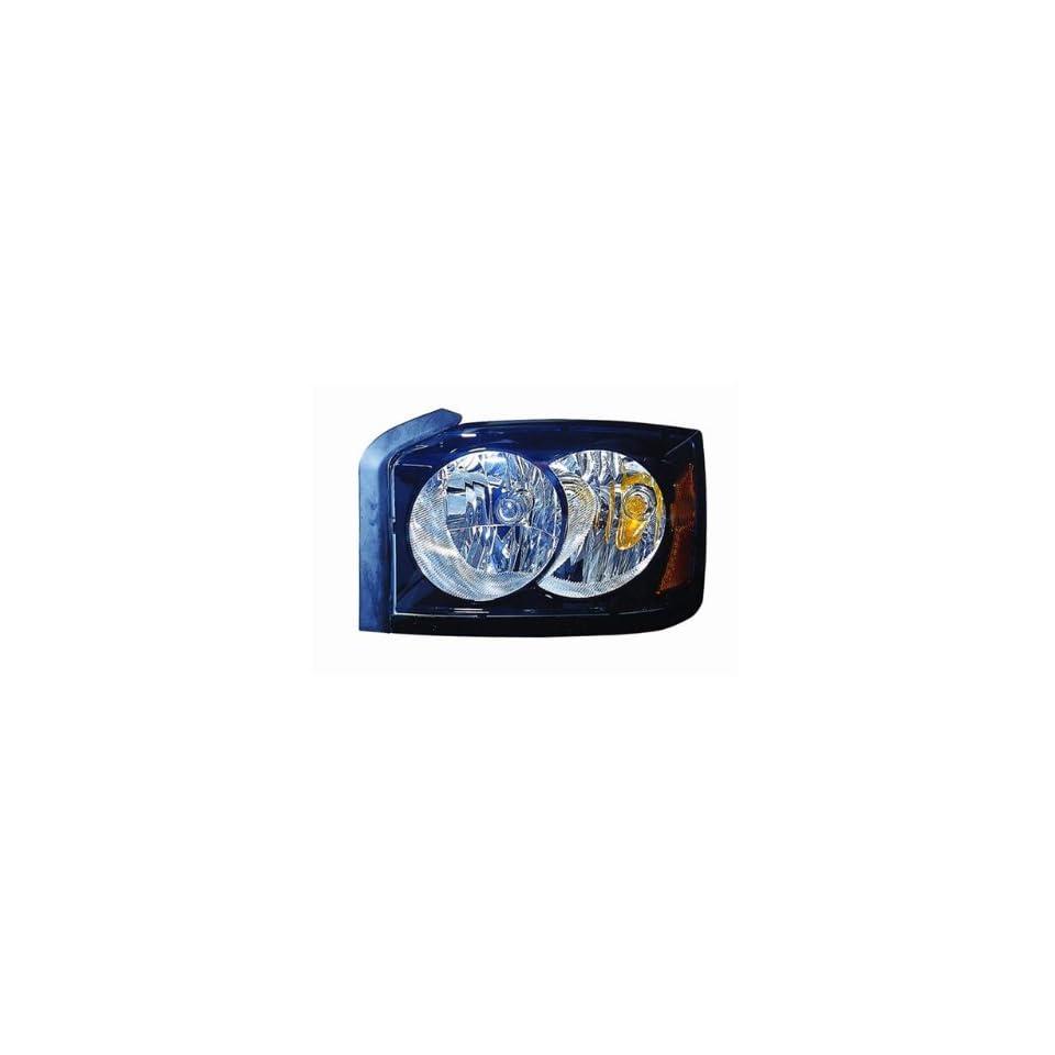 Depo Dodge Dakota Driver & Passenger Side Replacement Headlights