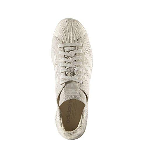 the latest b8642 a6adb Adidas Bianco Uomo Superstar Primeknit 80s Sneaker vwxqvBrTX