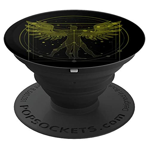 Da Vincis Canon of Proportions - PopSockets Grip and Stand for Phones and Tablets