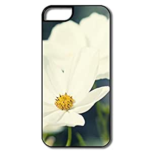 For Iphone 5C Phone Case Cover Lens Painting For Iphone 5C Phone Case Cover - White/black Hard Plastic
