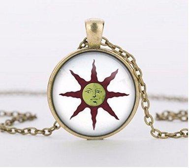 - Dark Souls Solaire of Astora Sun Necklace, Dark Souls of Astora Sun Pendant Handmade