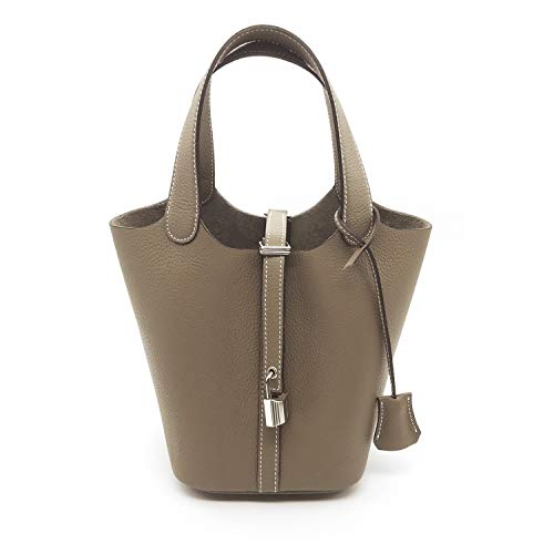 - LUX MINI TOTE BAG 17 cm/ETOFFE ~[made in Korea] Togo Genuine Leather Womens Handbag