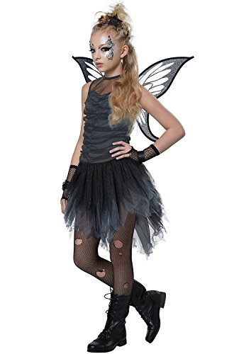 Mystical Fairy Girls Costume Black/Gray