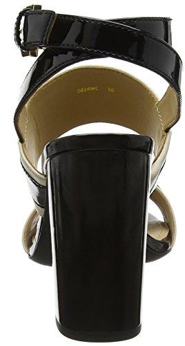 con Nero alla Geox Skin Caviglia Cinturino Audalies Black Donna High D Sandali wxwZIAzq