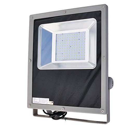 Cheap LEDwholesalers Series-3 Outdoor Security Flood Light 240-Watt, White, 3716WH
