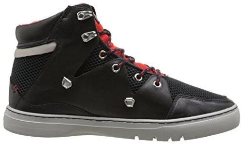 Creative Recreation Mens Spero Fashion Sneaker Marine Zwart / Rood Sport