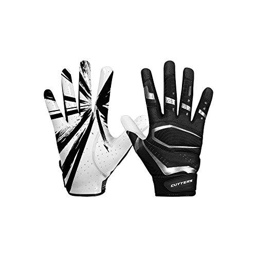Cutters Gloves, Black/White, Medium by Cutters