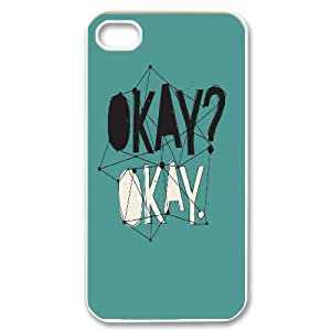 The Fault in Our Stars Okay?okay. phone Case Cover for Apple iPhone 4 4S ART127141