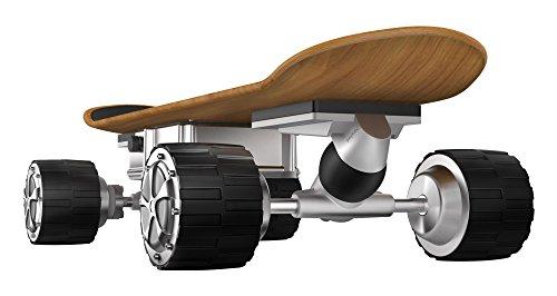 Xskate-Xskate-45P-Skate-lectrique-avec-Batterie-Contrle-de-la-Vitesse-Par-Tlcommande-et-une-Application-Ddie-Noir-M