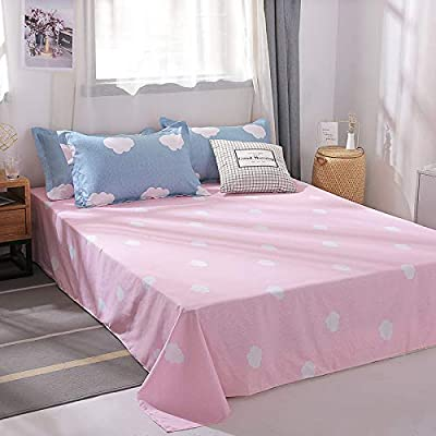 ORIHOME Bedding Set Twin/Full/Queen/King Cloud Printing– 3/4 Piece Bedding Sets – Teen Bedding for Girl Bedroom(Without Quilts) AML (Cloud,Blue, Twin,3pcs): Home & Kitchen