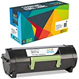 Do it Wiser Compatible 50F1U00 501U Toner for Lexmark MS610dn MS610 MS510 MS510dn MS610de MS610dtn MS610dte | Ultra High Yield 20,000 Pages