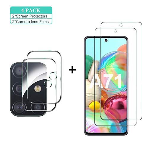 Protector de pantalla y de cámara para  Galaxy A71(P48H)