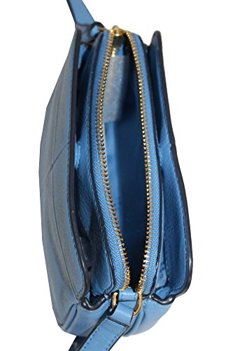 body Women's Montego Micro Cross Burch Ivy 44731 Handbag Blue Tory Leather Bark F5HXqw