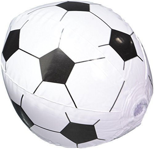12 Soccer Ball Beach Balls Inflatable Fun Toy 1 Dozen -