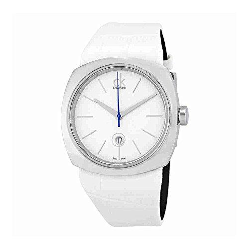 Calvin Klein Conversion White Dial Ladies Watch (Calvin Klein Womens White Dial)