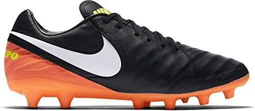 Nike Men's 844396-018 Football Boots Black (Black / White-hyper Orange-volt) vsn5b6W