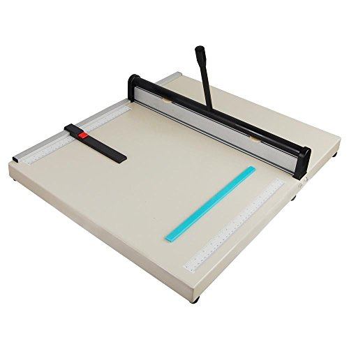 GHP 20'' Creasing Width Adjustable Backstop Desktop Manual Paper Creasing Machine by Globe House Products