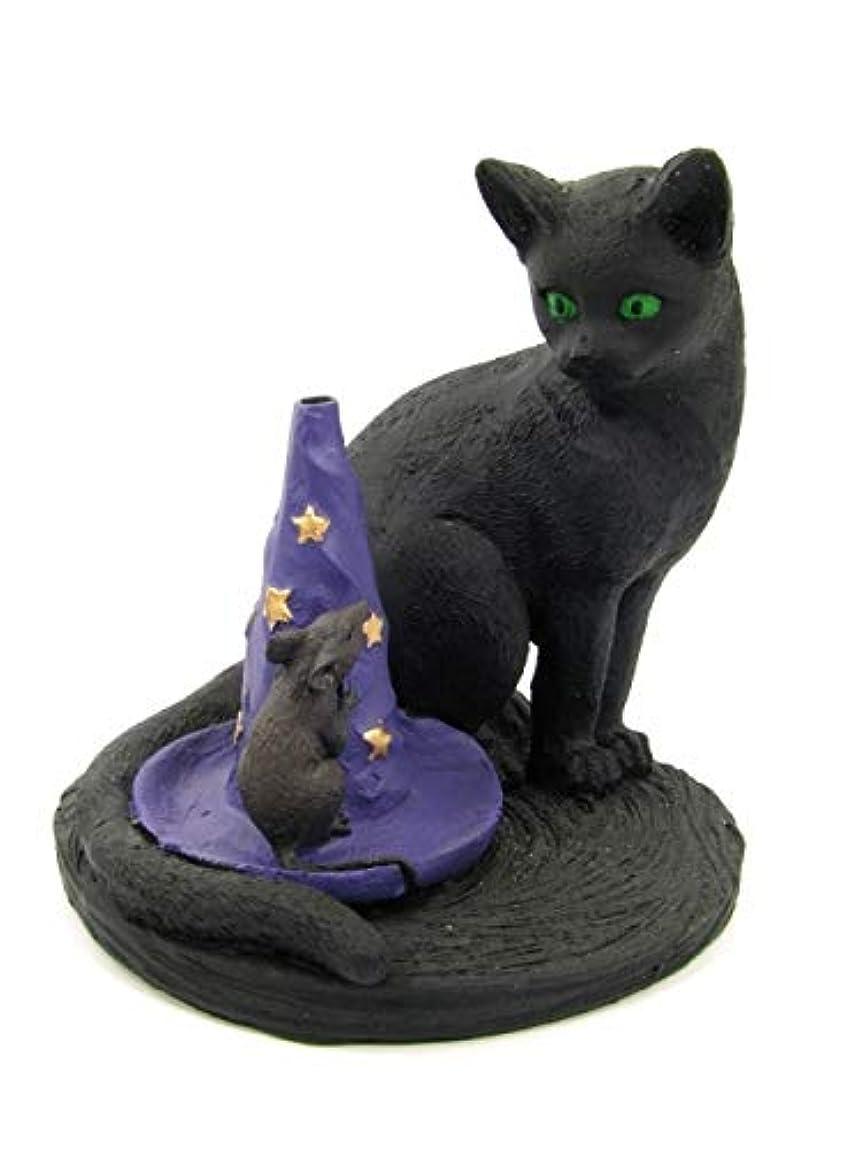 ポーチ怪物私の[INCENSE GOODS(インセンスグッズ)] MAGICAL CAT & MOUSE INCENSE BURNER