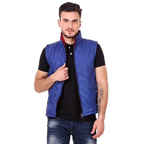 BIG Dreams Collection Sleeveless Solid Men's Jacket