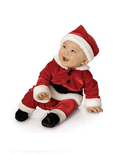 Velvet Infant Santa Costume (Newborn Santa Suit)