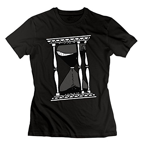 WLF Hourglass Drawing Logo Organic Cotton Slim Fit T-Shirt For - Hours Store Lf