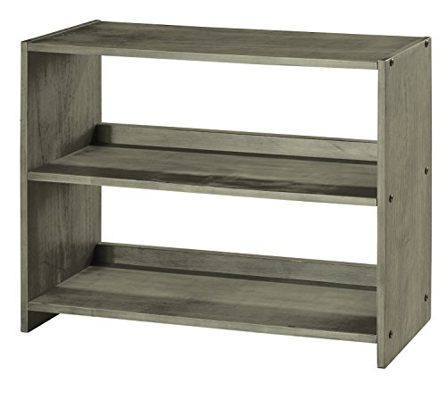 DONCO KIDS 790EAG Louver Small Bookcase, Antique Grey