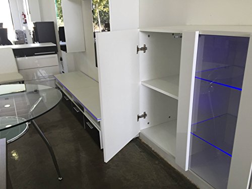 Credenza Moderna Profondità 40 : Credenza sospesa moderna design salve bianco larghezza: 120cm x