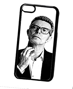 Actor David Bowie Cool High Impact Hard Funda Case & Cover Solid Plastic Back Cover Fit For Ipod touch 6th