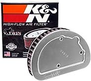 K&N Engine Air Filter: High Performance, Powersport Air Filter: Fits 2014-2017 HARLEY DAVIDSON (Softail Sl
