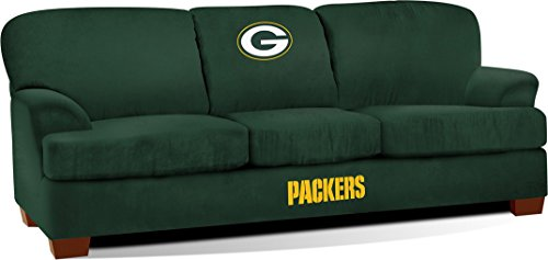 Imperial Officially Licensed NFL Furniture: First Team Microfiber Sofa/Couch, Green Bay Packers