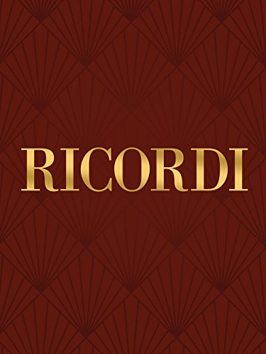 Ricordi Songs (Romanze) (High/Medium Voice) Vocal Collection Series by Fernando Tosti