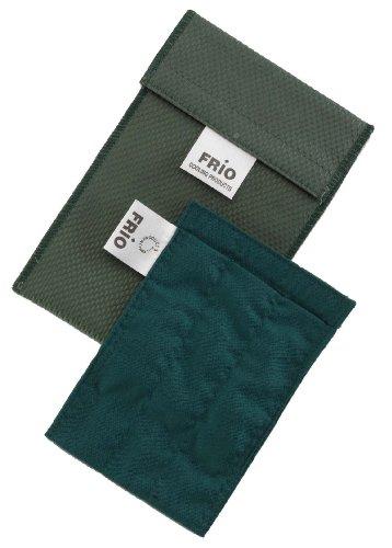 Frio Pumpen Kühltasche für Insulin, 9 x 11 cm, Blau Grün