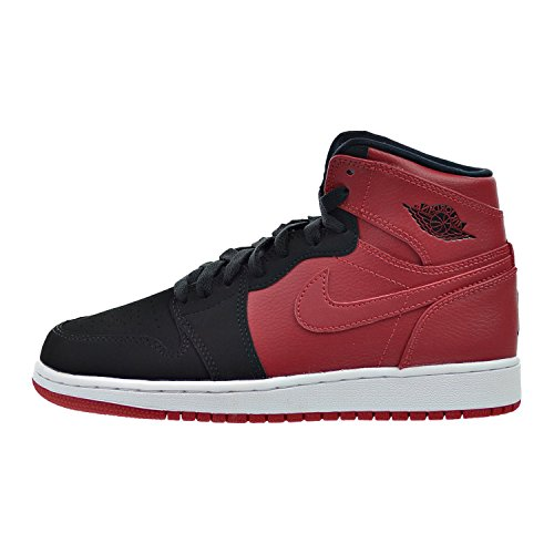 Jordan Nike Kids Air 1 Retro High BG Gym Red/Black/White Basketball Shoe 6 Kids - Kid Cheap Jordans