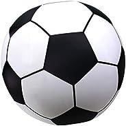 GoFloats Giant Inflatable Soccer Ball Made from Premium Raft Grade Vinyl, Black & White