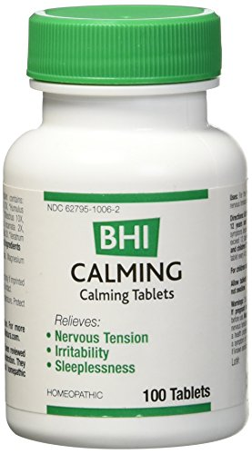 BHI - Calming, 100 Tablets